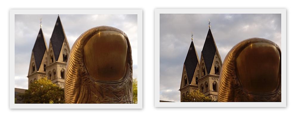 Daumen hoch ... für die Buga 2011 in Koblenz