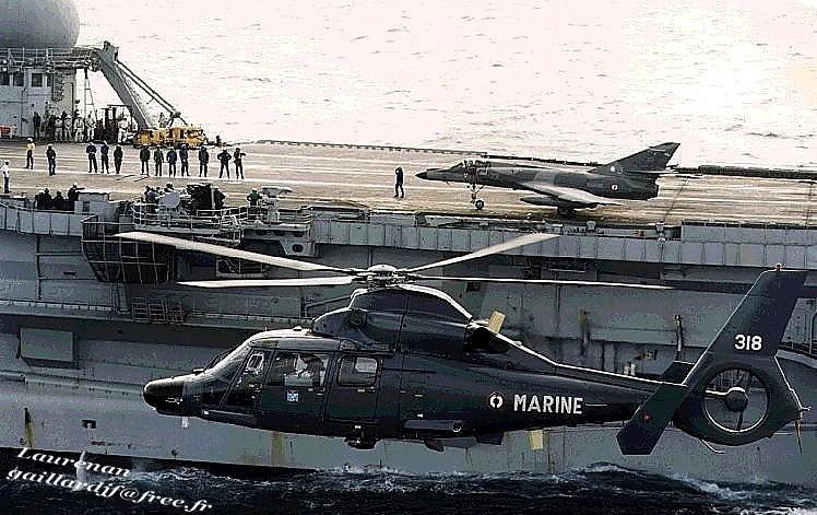 Dauphin Marine / Super-Etendard