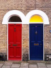 D'autres portes de la Norwich Street  --  Cambridge  --  Andere Türen in der Norwich Street