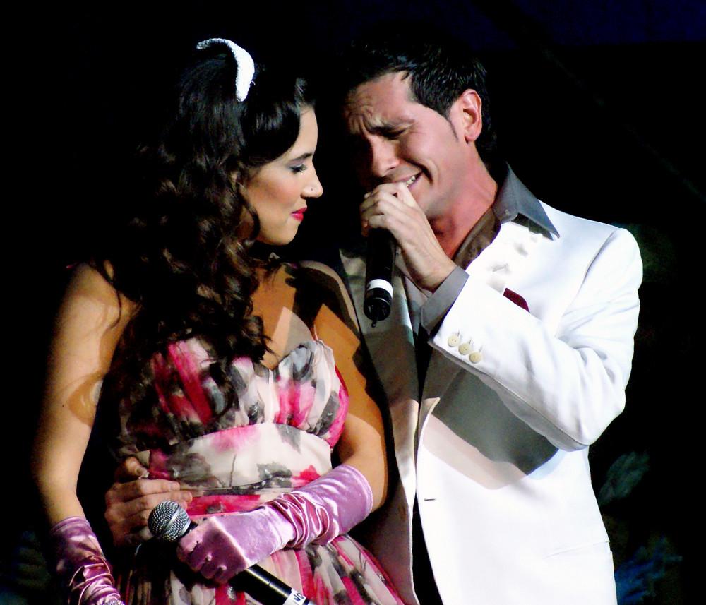 David Demaria e India Martinez