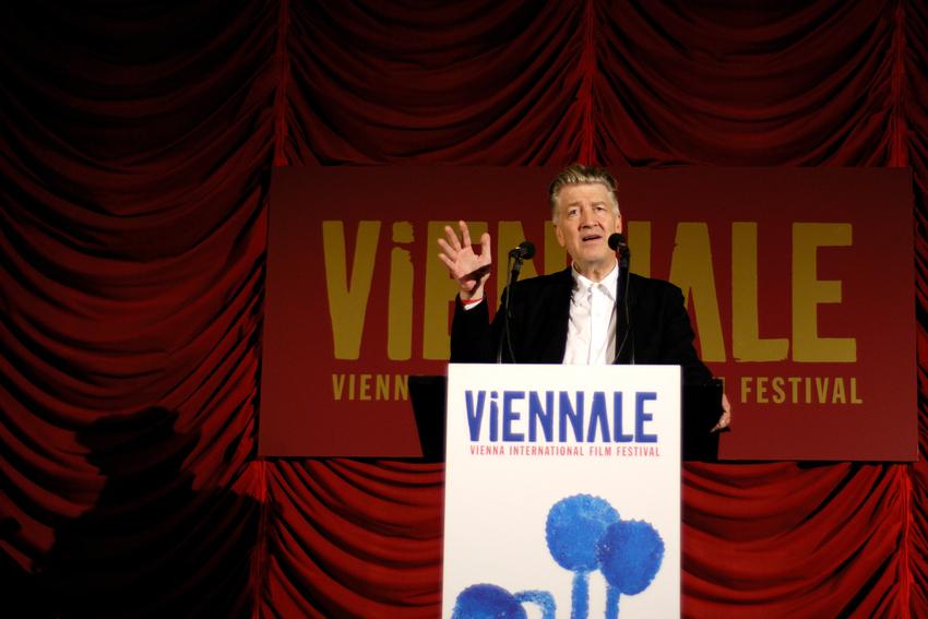 David Lynch zu Besuch in Wien