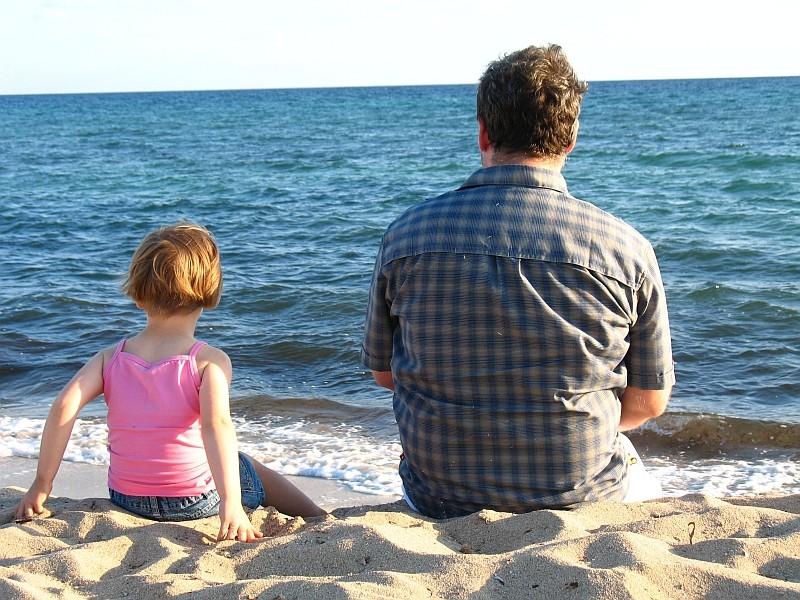 """""""David"""" und """"Goliath"""" blicken aufs Meer"""