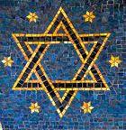Davidstern, Mosaik