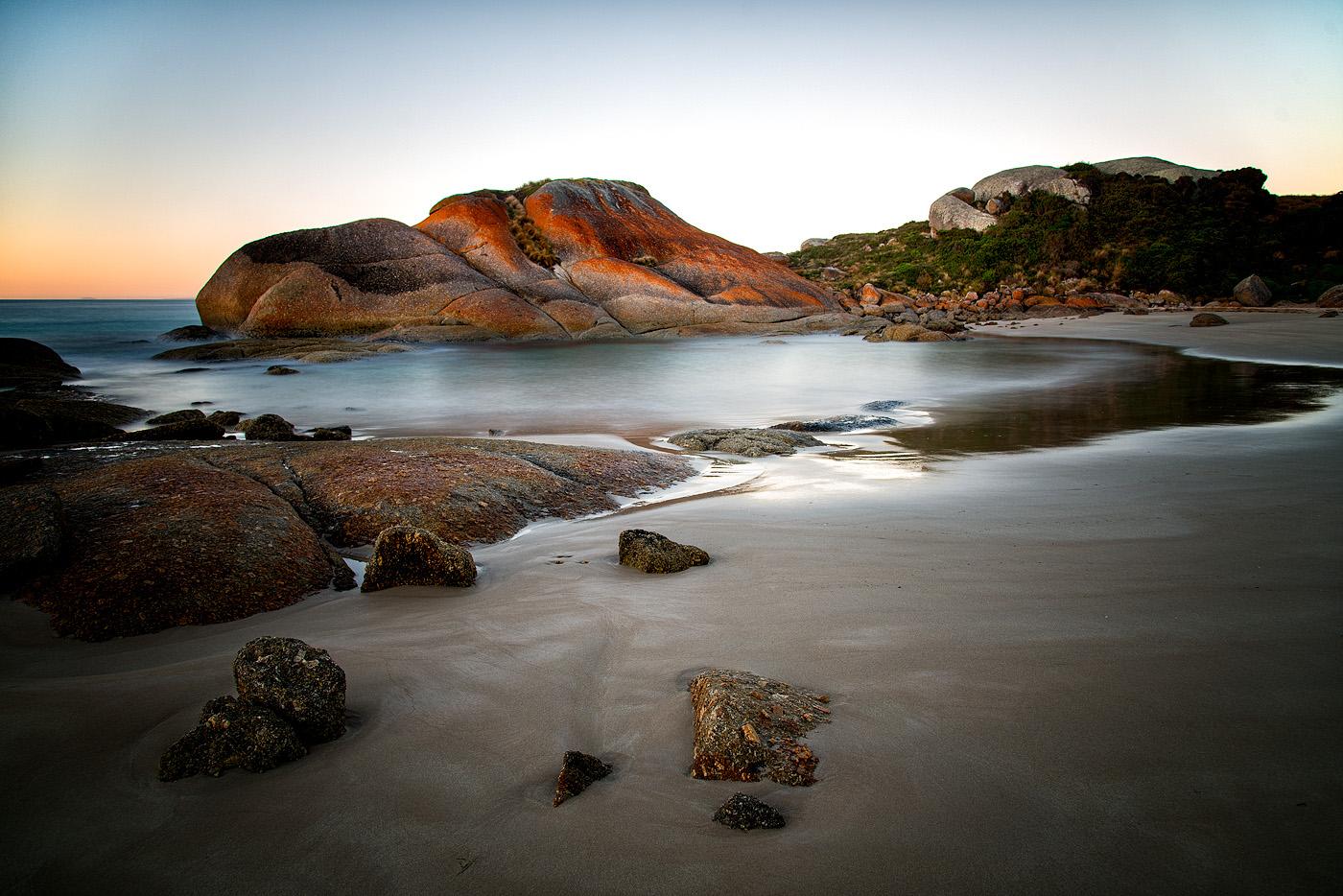 Dawn At Eleanor Beach