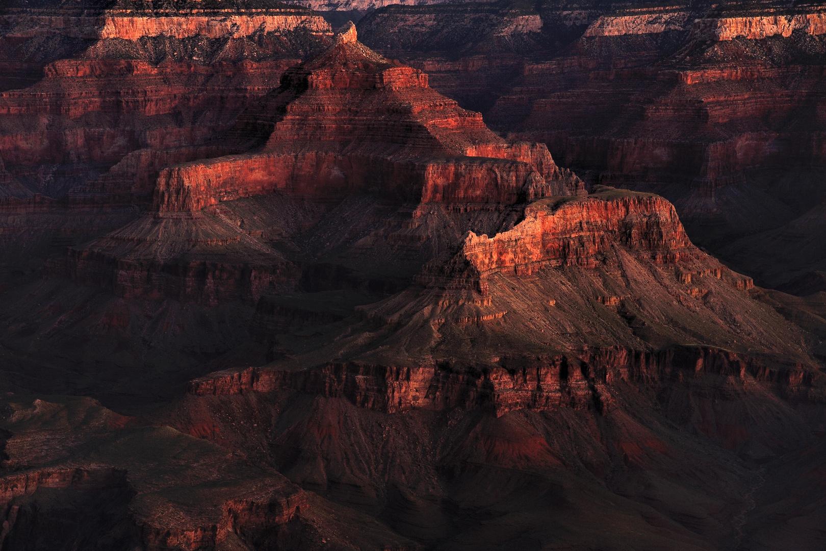 *Dawn at Grand Canyon*