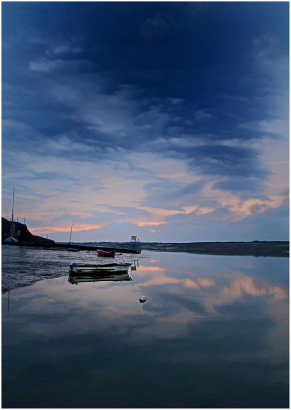 Dawn at the Hard,Brightlingsea