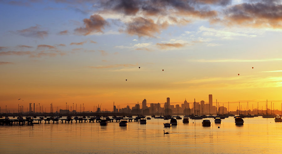 Dawn at Williamstown
