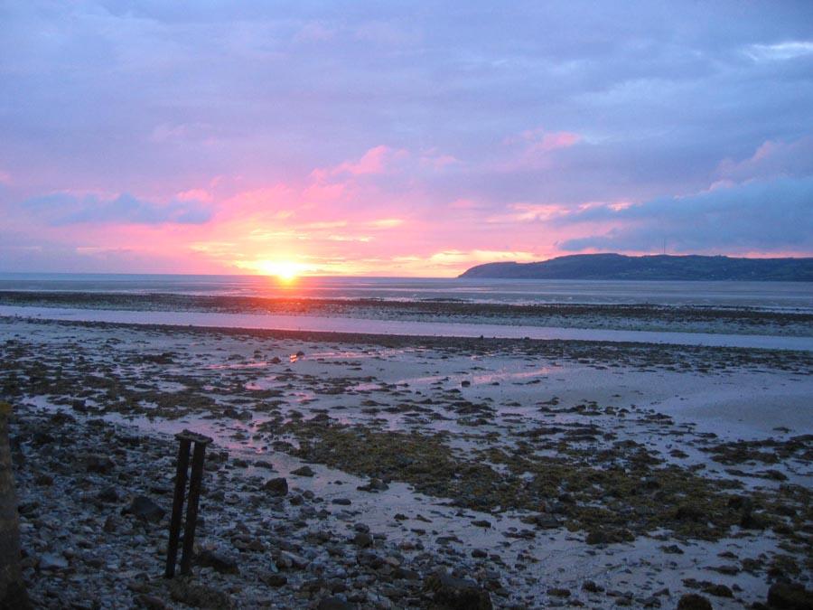 Dawn Awakening at Red Wharf Bay