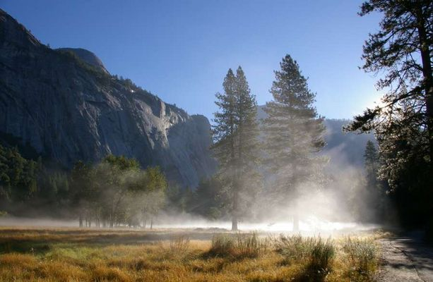Dawn in Yosemite Valley