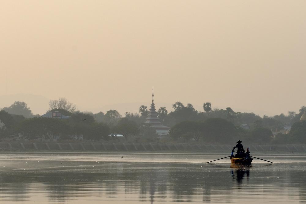 Dawn near Amarapura