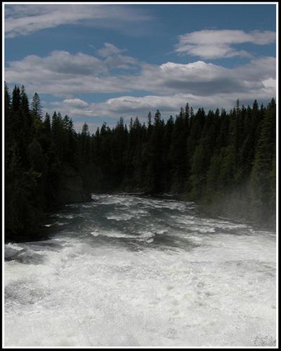 Dawson Falls im Wells Gray NP