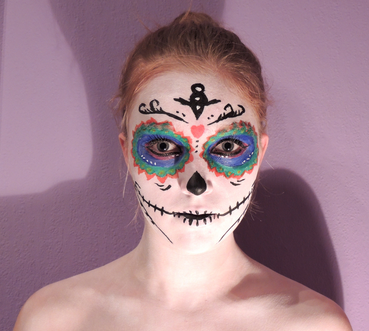 Day of Death. |Facepainting.