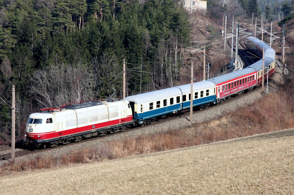 DB-Baureihe 103 am Semmering