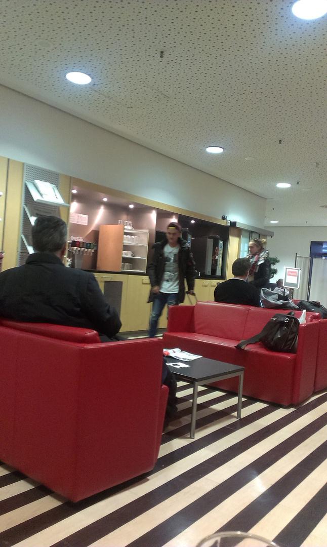 DB-Lounge im Münchner Hauptbahnhof