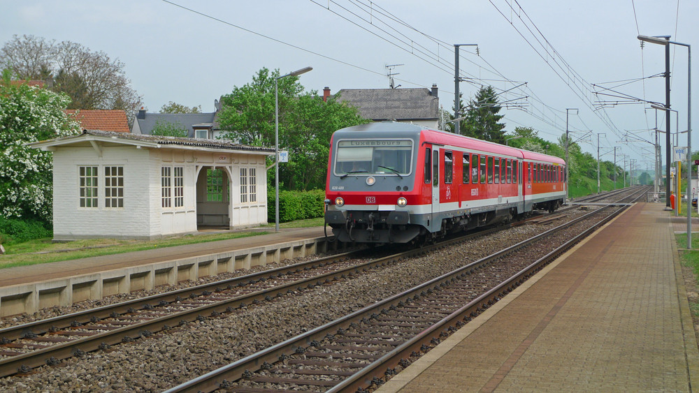 DB Regio Trier-Luxembourg
