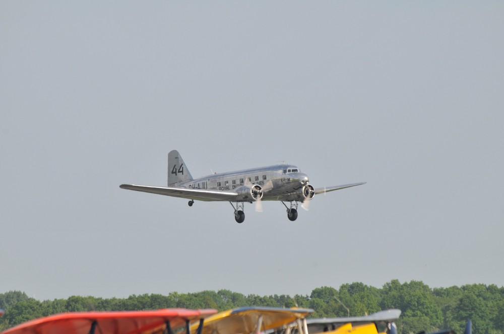 DC-3 am Start
