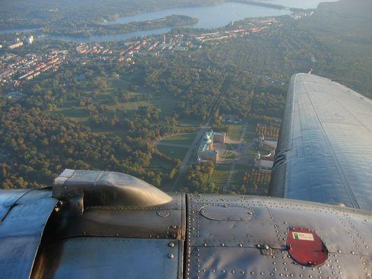 DC-3 über Potsdam
