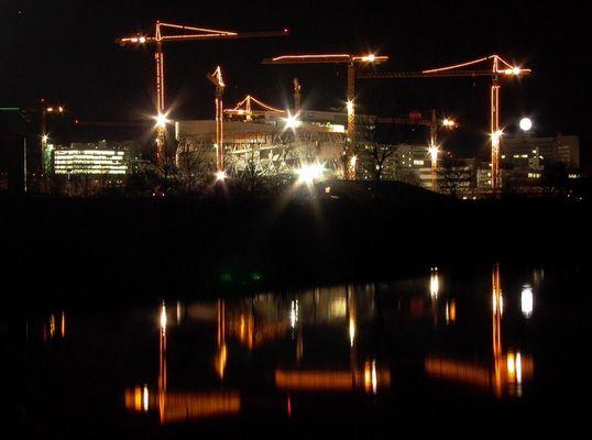 DC-Baustelle in Stuttgart