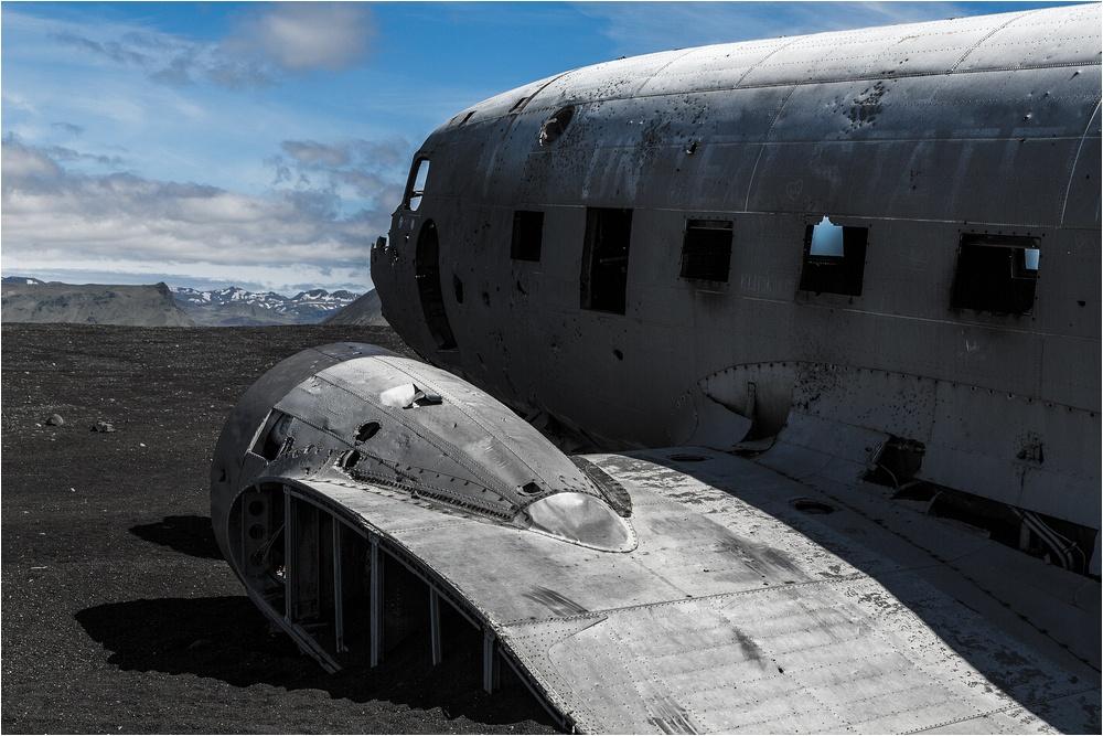 DC3/C47 Dakota - gestrandet