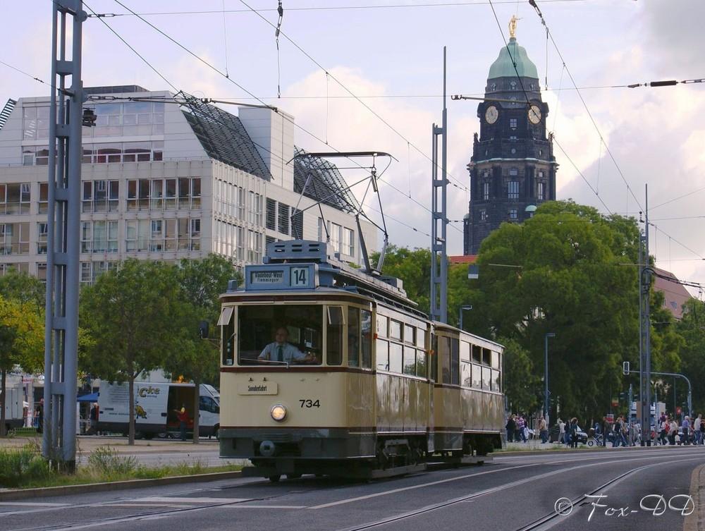 """[DD] """"Jubiläum der Lößnitzgrundbahn"""""""