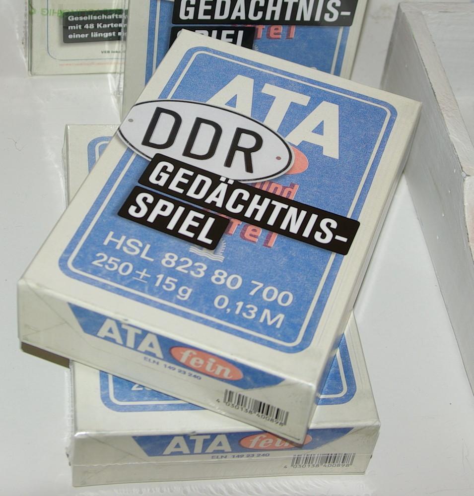 DDR - Gedächtnisspiel