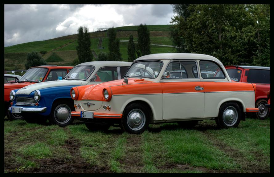 DDR Nostalgie - Trabant und Wartburg