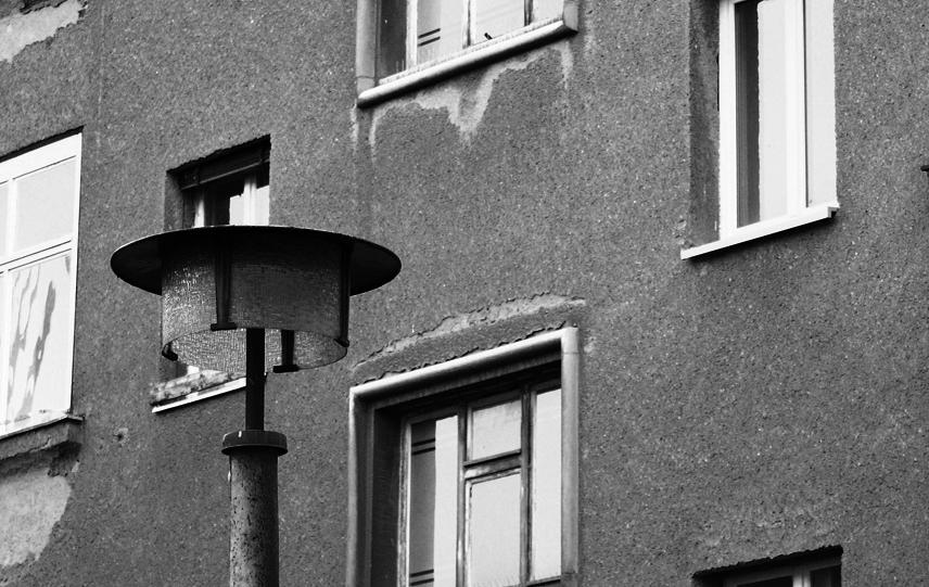DDR Straßenlaterne