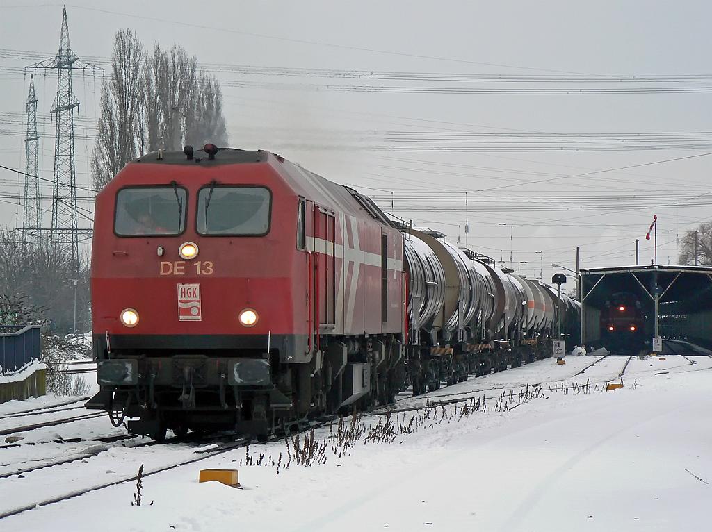 DE 13 im Winter