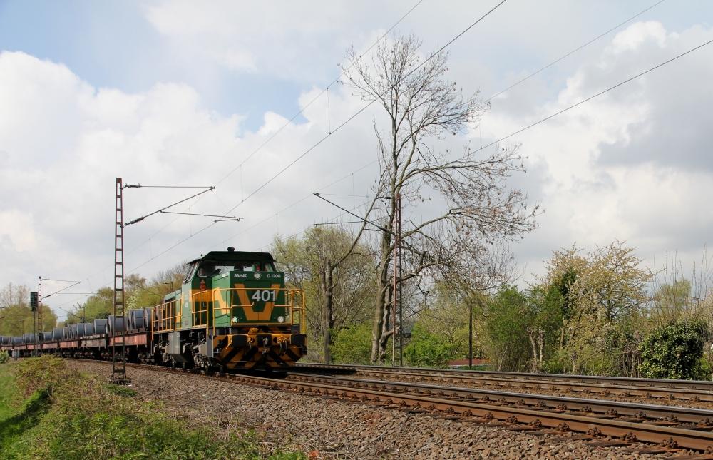 DE 401 mit dem Rollmops-Express