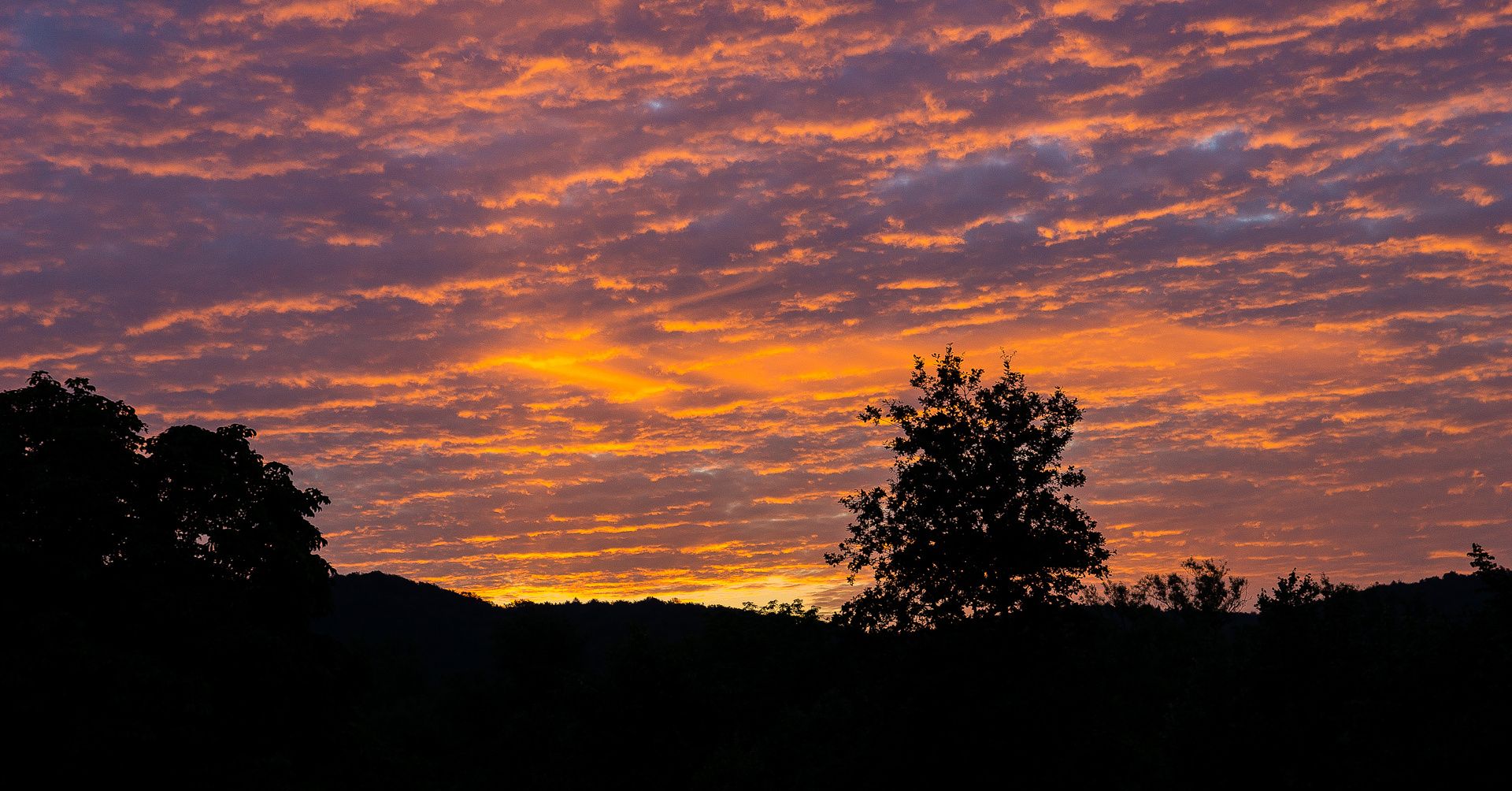 """De' Ami sacht: """"Sunrise over the Lahnmountains"""""""