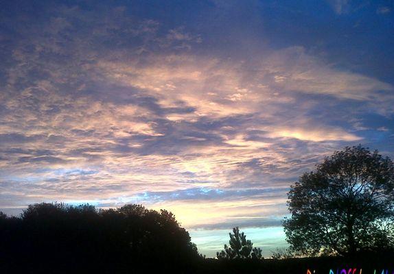 de beau matin...