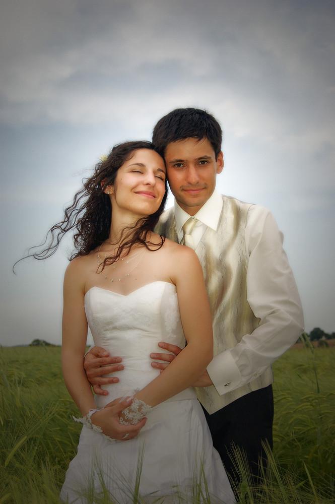 de jolis mariés!!