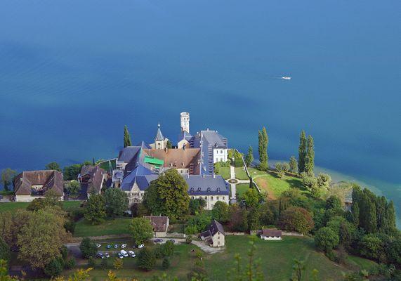 De là Haut ... l'Abbaye d'Hautecombe
