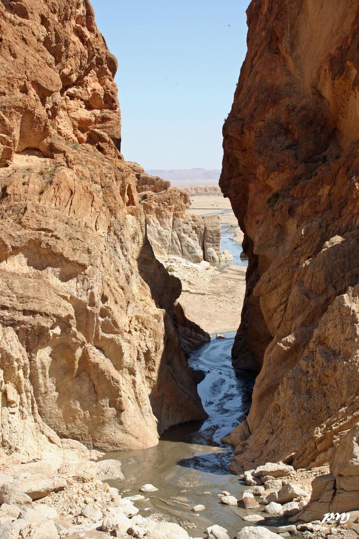 de l'autre côté,le désert !