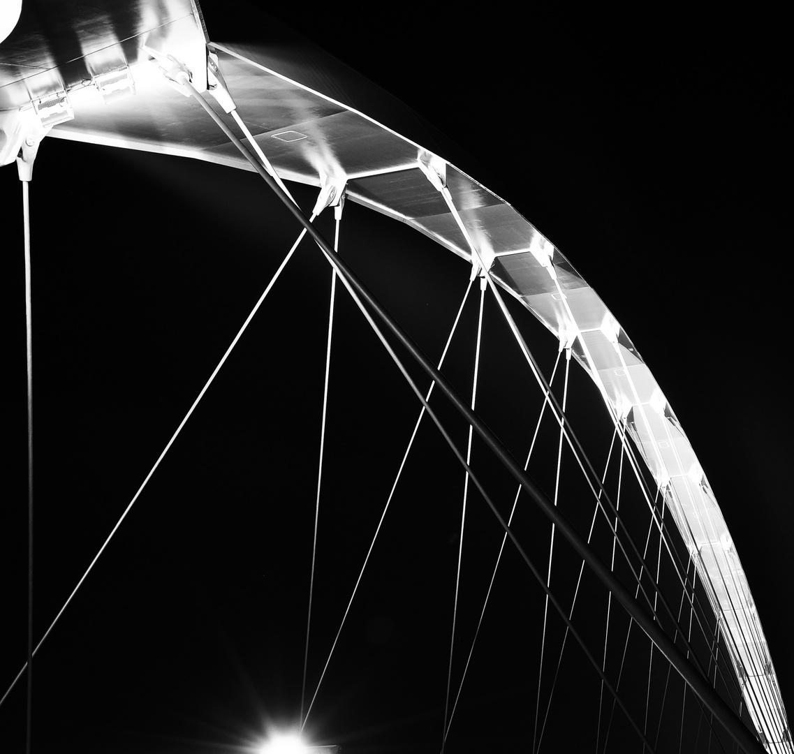 De Oversteek Brücke in Nijmegen NL