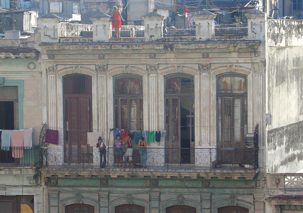 De tertulia en La Habana