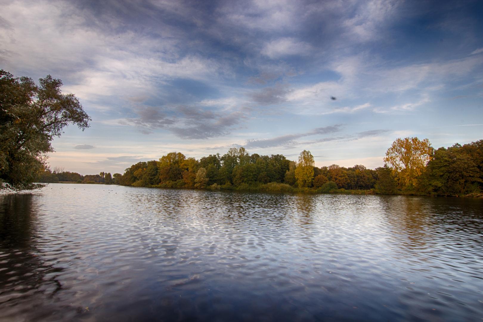 De Witt See im Herbst