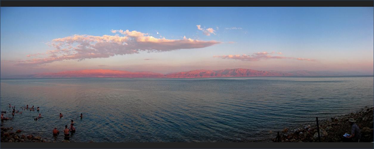 ** dead sea sunset **