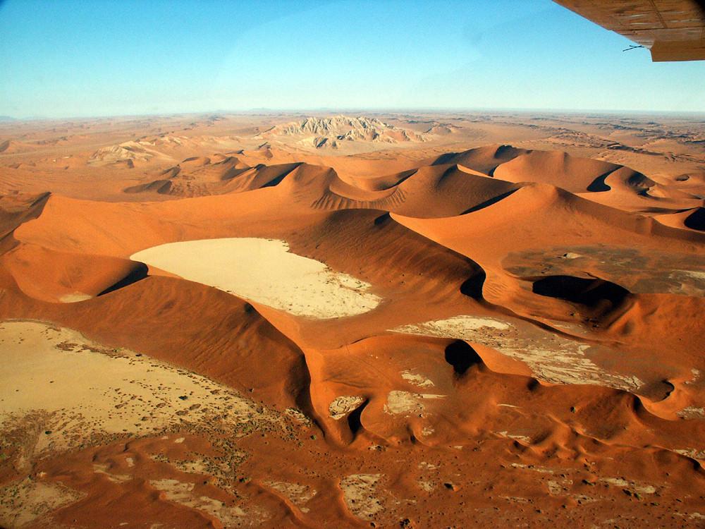 Dead Vlei, Namibia - von oben