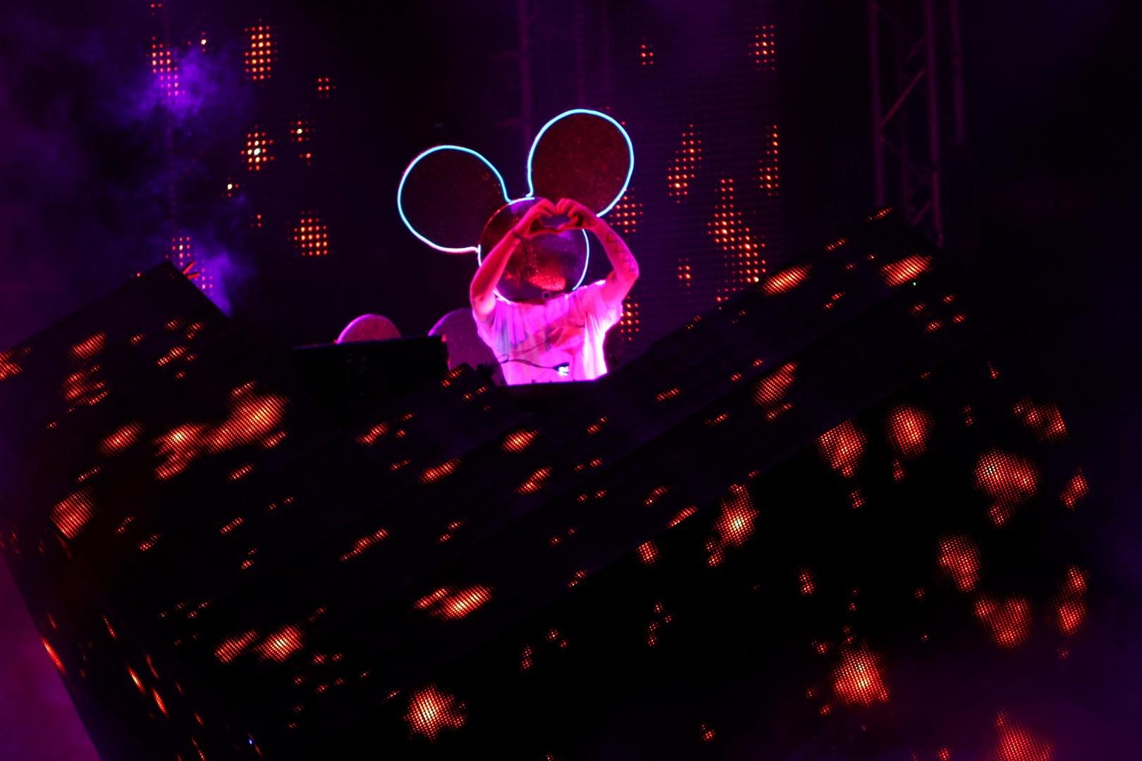 Deadmau5 on Stage