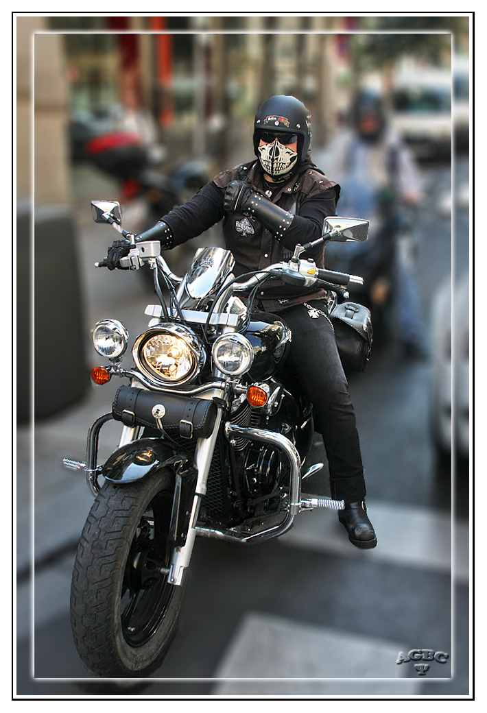 Death Rider from Hell in Madrid GKM3