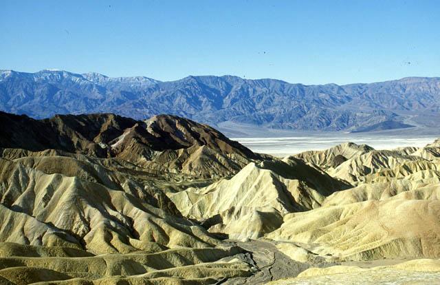 Death Valley am Zabrisky Point