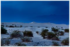 Death Valley Blue Hour