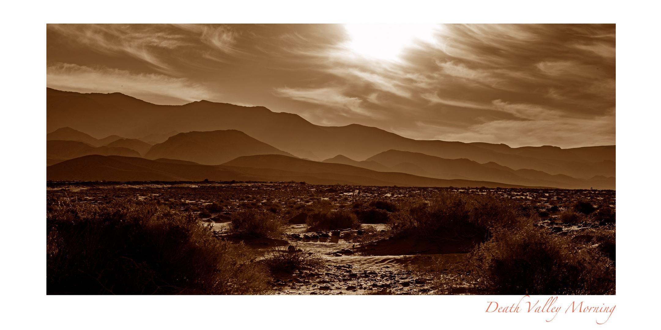 Death Valley Morning
