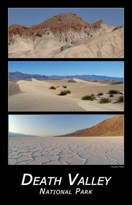 Death Valley Nationalpark (Tal des Todes) in Kalifornien