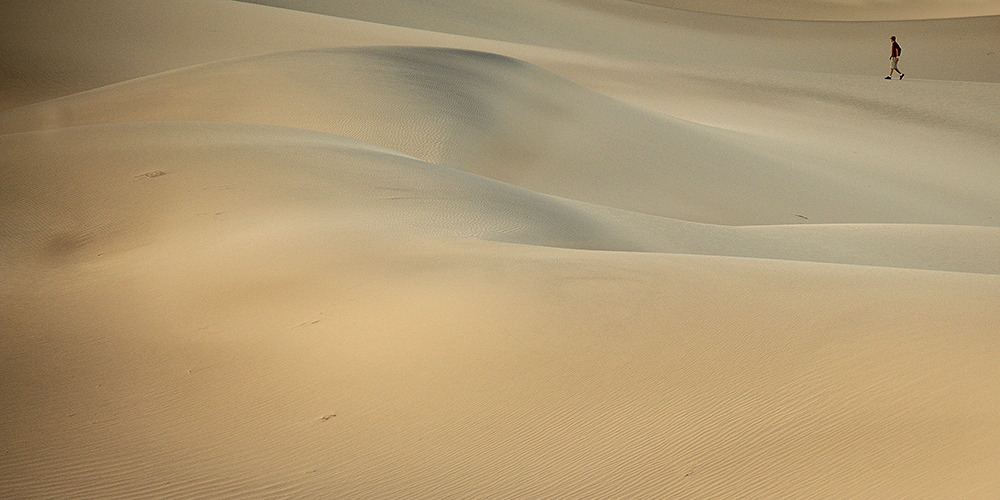 Death Valley NP / Mesquite Sand Dunes / Californien / USA