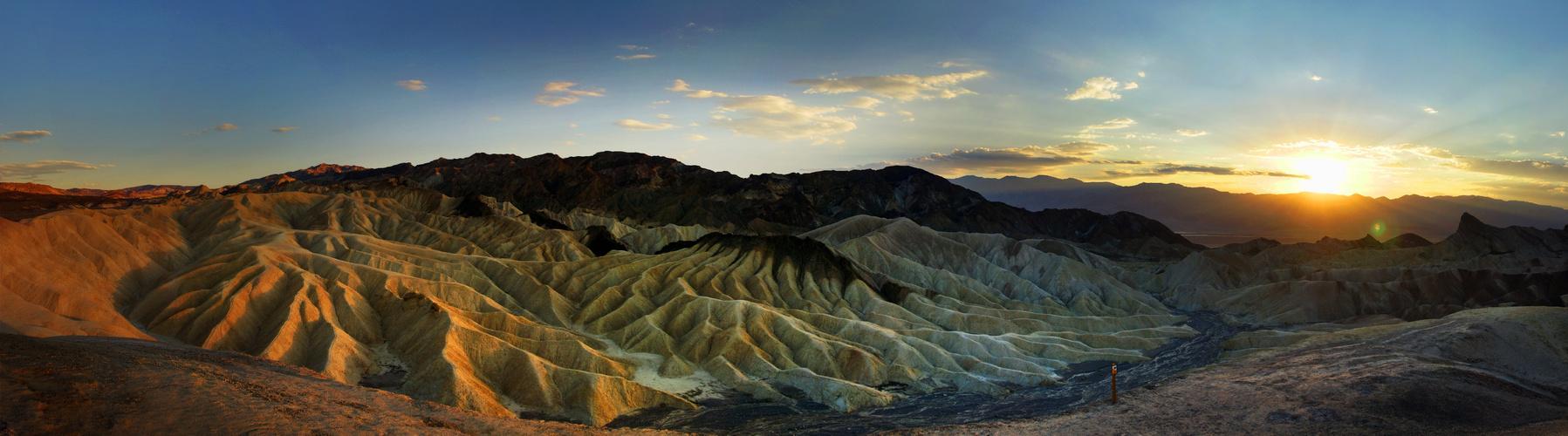 Death Valley Sunset at Zabriski Point