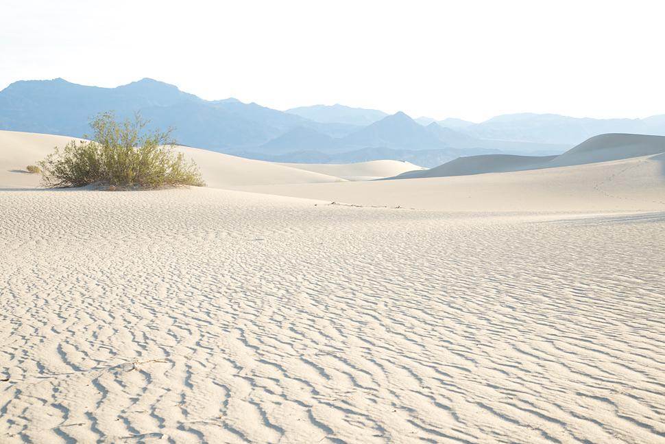 Death Valley vor Sonnenaufgang