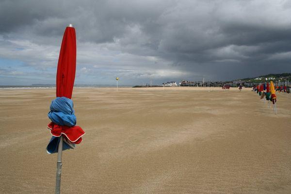 Deauville la plage