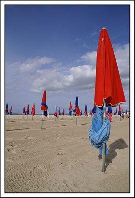 Deauville, les parasols